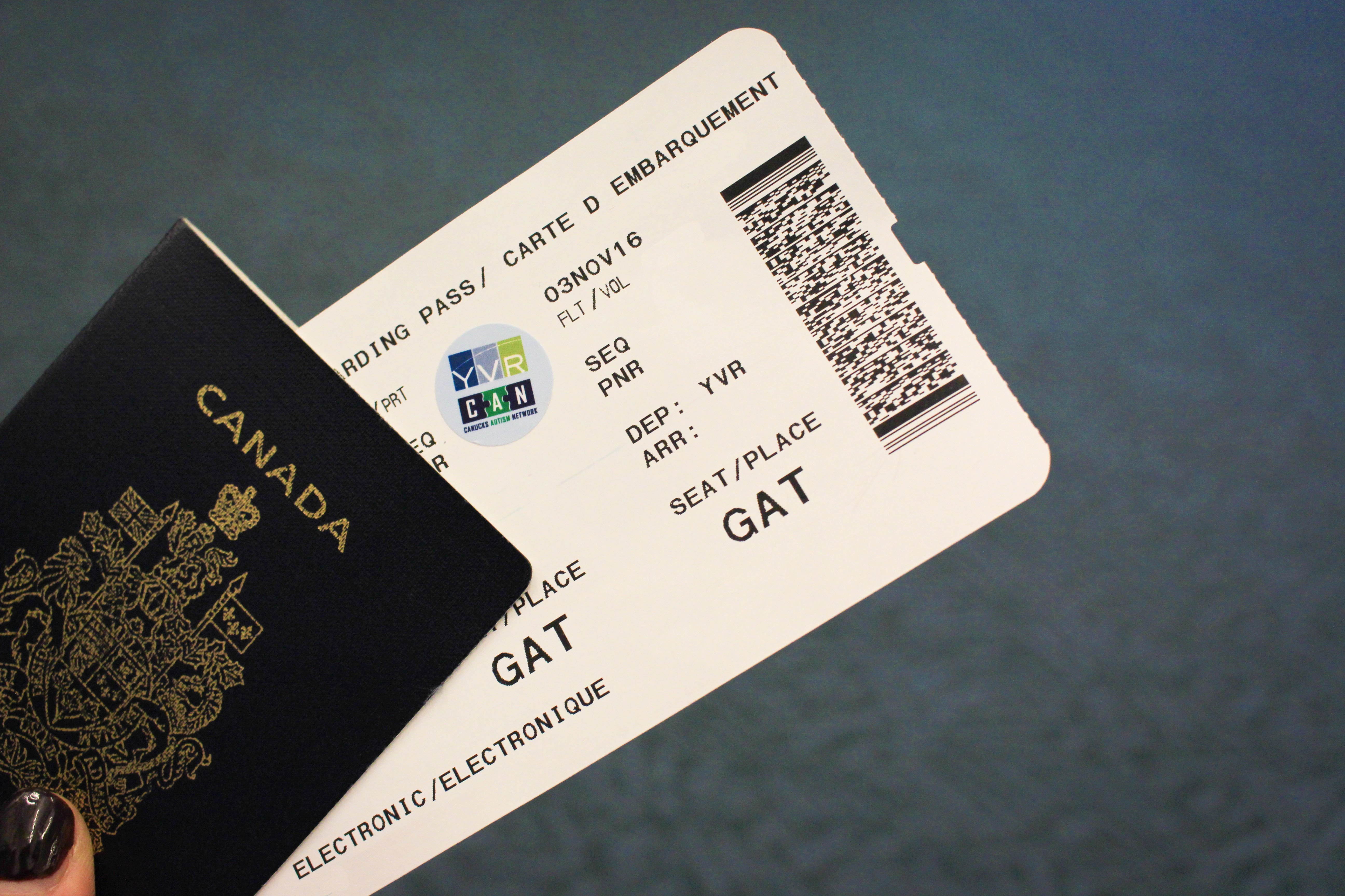 New Yvr Autism Access Sticker Gives Expedited Airport Processing Yvr