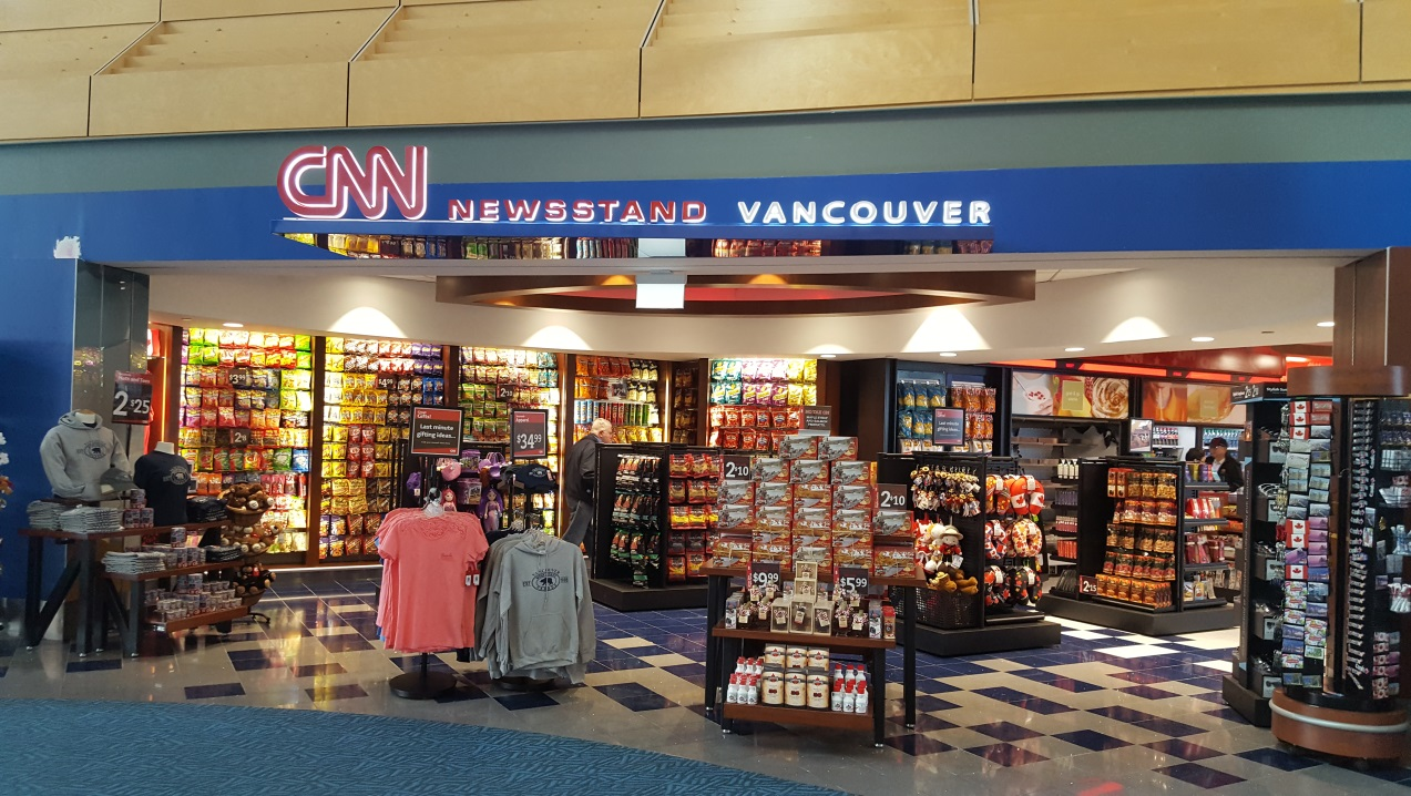 CNN newsroom store