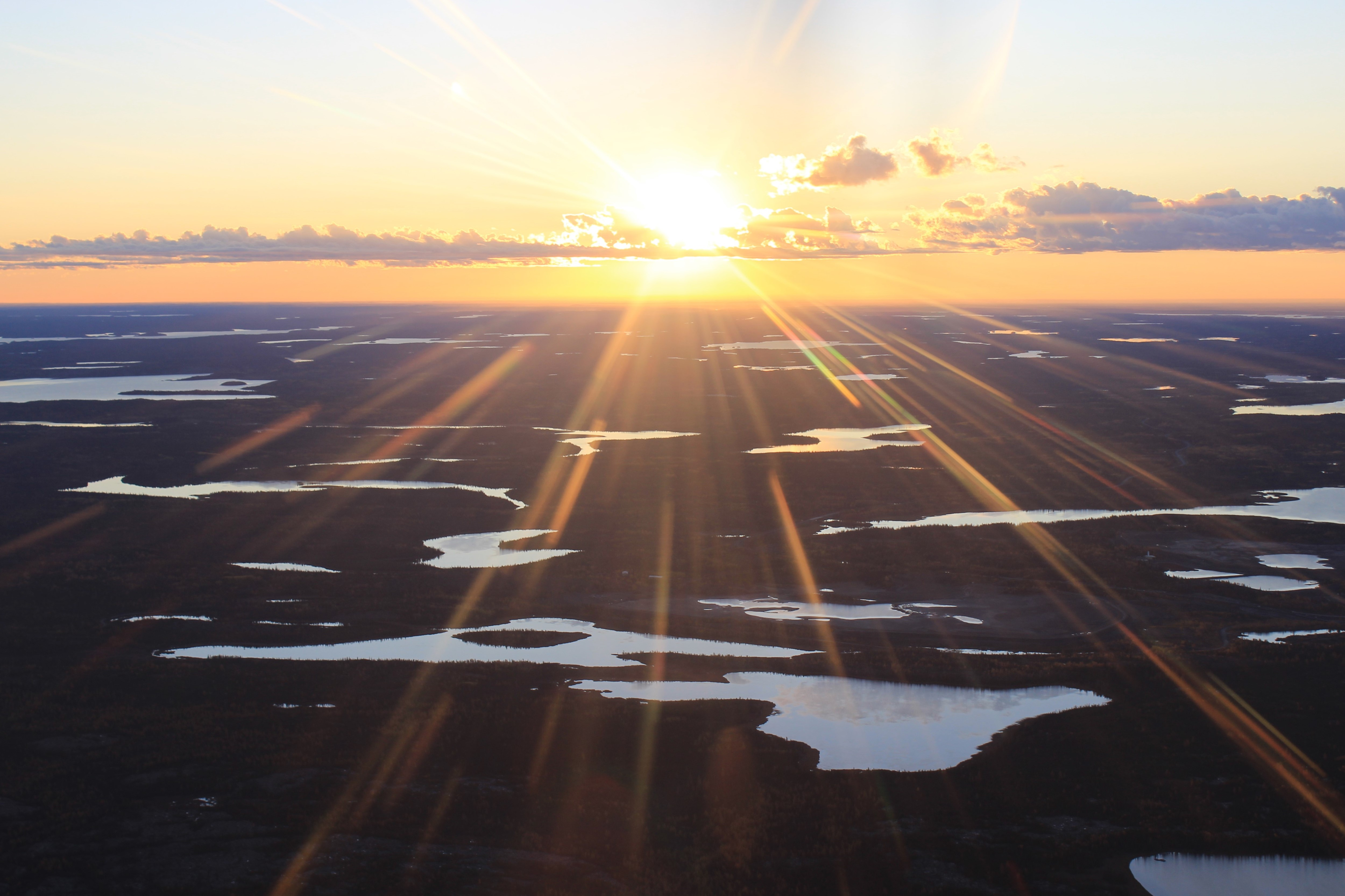 Northwest Territories Sunrise