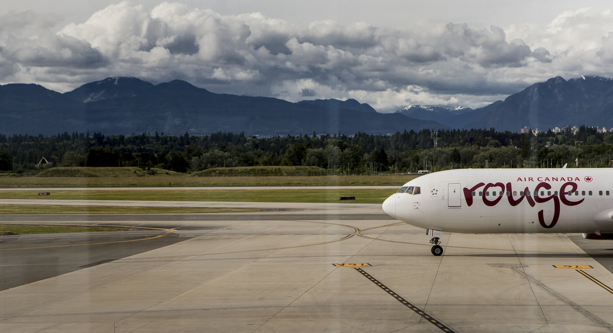 Air Canada Rouge Airplane