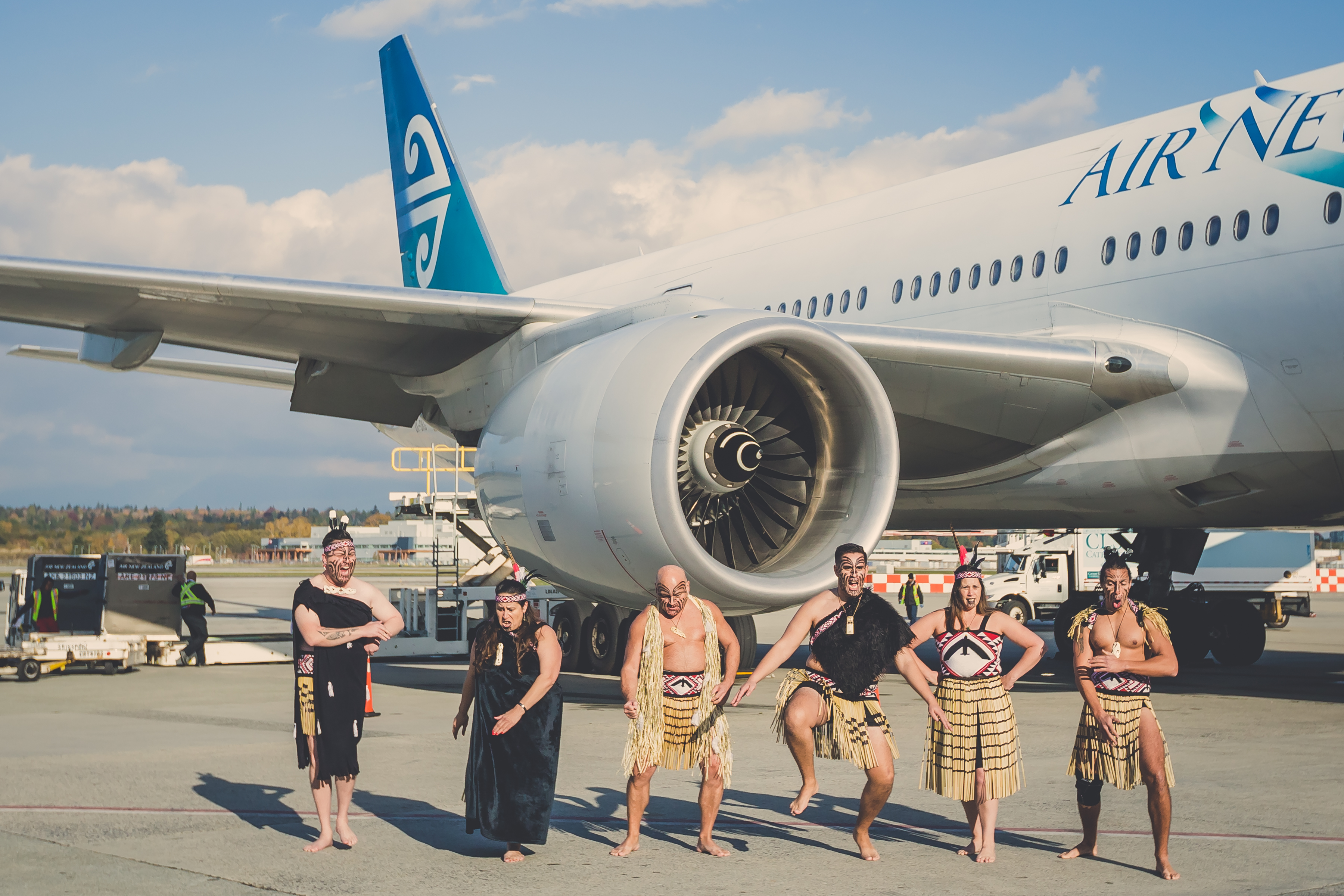 Air New Zealand Haka Performance Airside