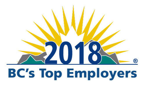 BC's Top Employer 2018 Logo