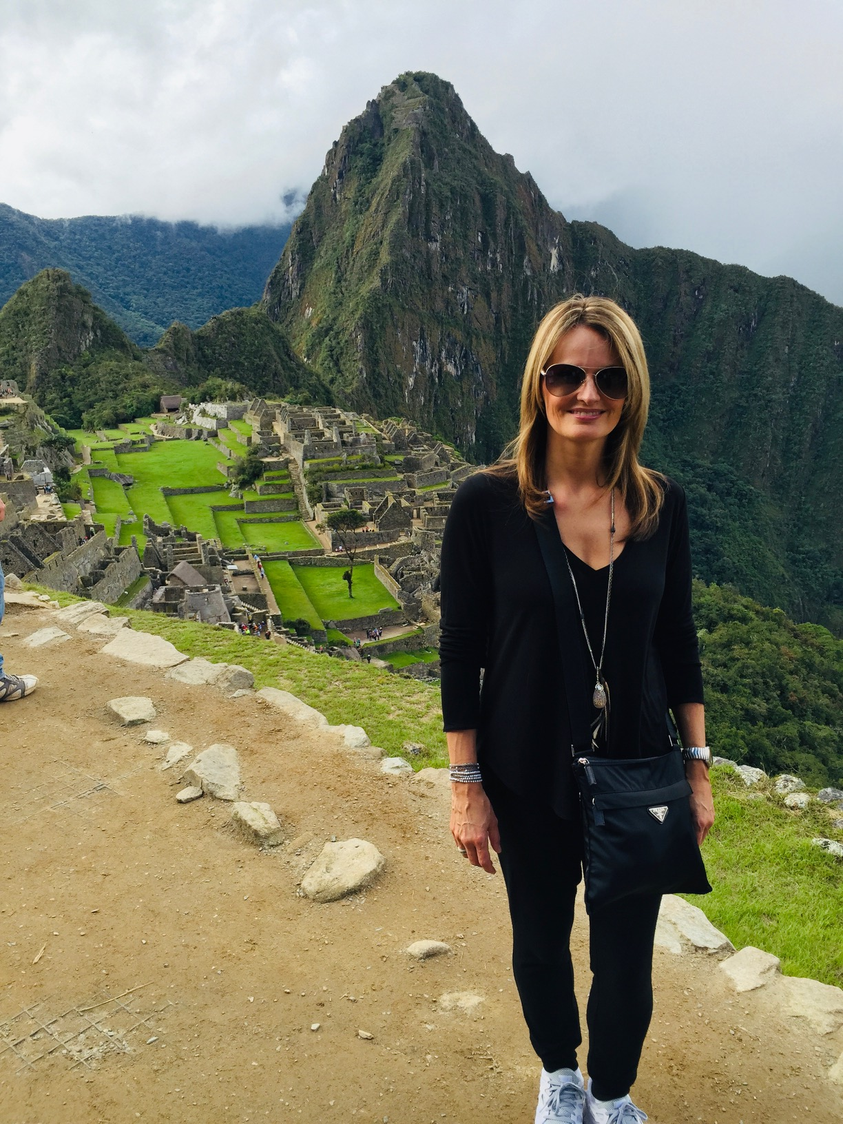 Claire Newell at Machu Picchu