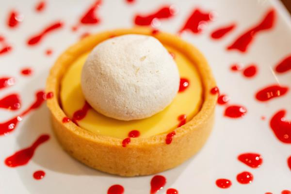 Lemon Shortbread Tart from Vino Volo