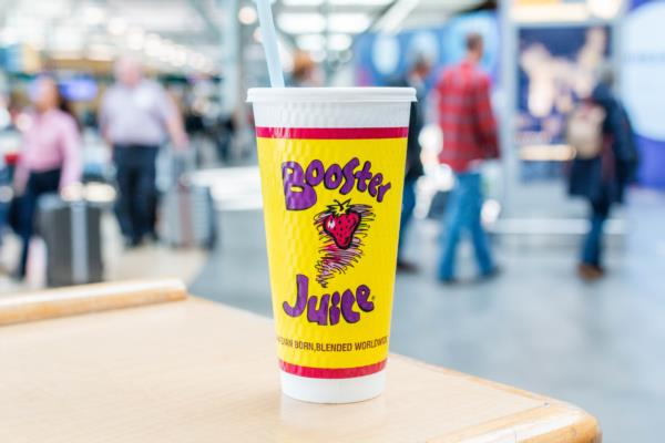 Smoothie from Booster Juice