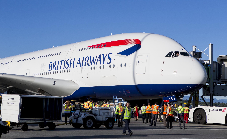 British Airways A380 Lands at YVR | YVR