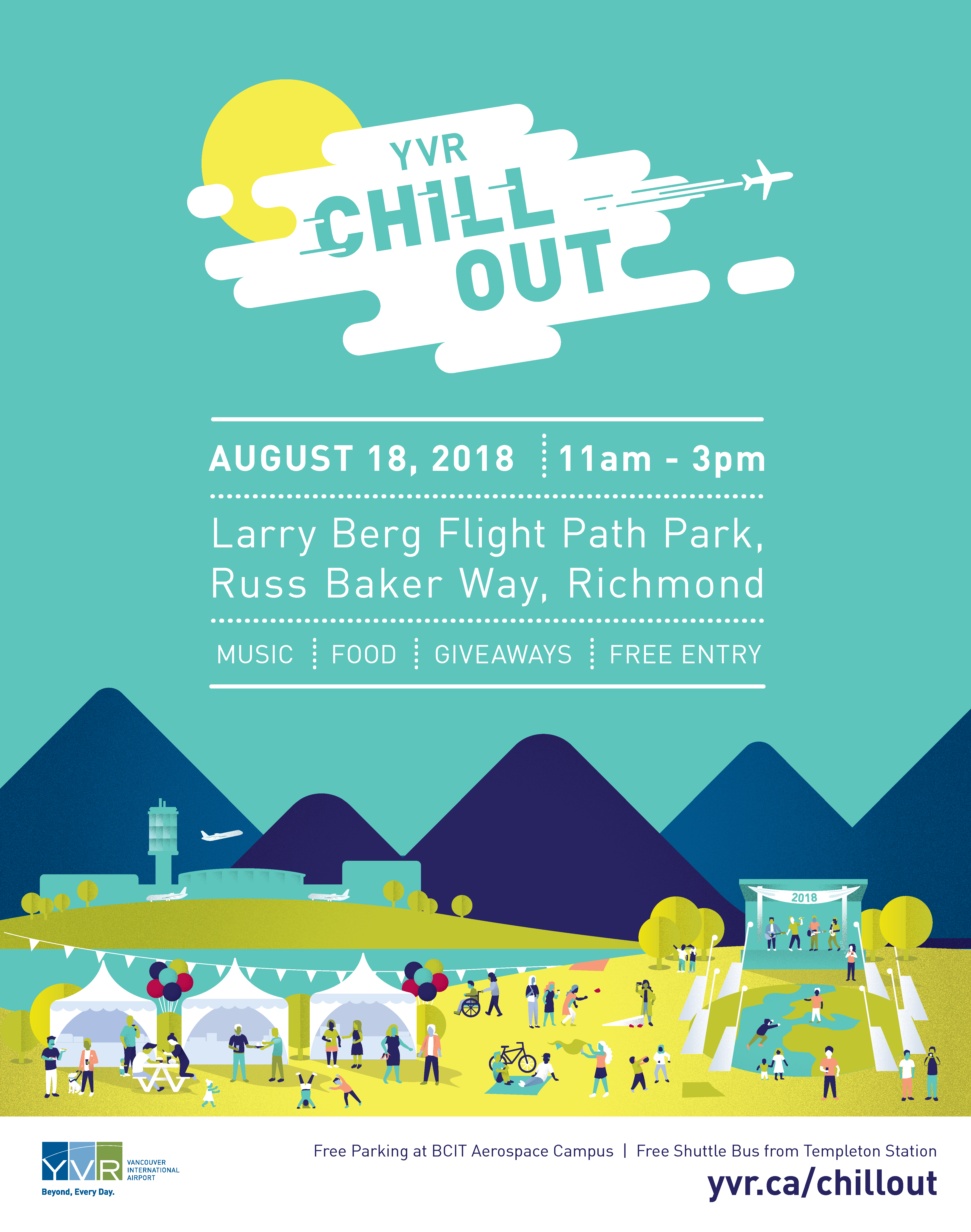 2018 Chill Out Poster 22x28