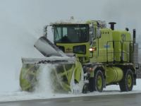 Snow operations at YVR