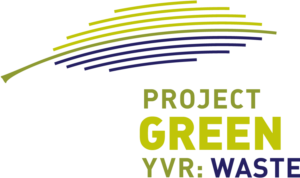 Project Green YVR: Waste logo