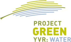 Project Green YVR: Water logo